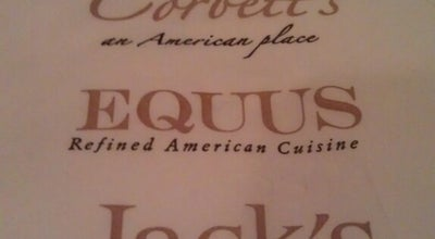 Photo of American Restaurant Equus at 122 Sears Avenue, Louisville, KY 40207, United States