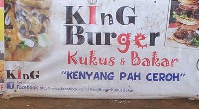 Photo of Burger Joint King Burger Kukus Bakar at Foodcourt Kolam Renang, Kuala Terengganu 21100, Malaysia