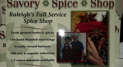 Photo of Gourmet Shop Savory Spice Shop at 8470 Honeycutt Rd, Raleigh, NC 27615, United States