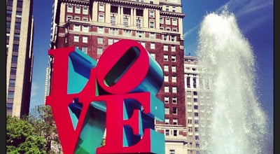 Photo of Public Art LOVE Sculpture at Jfk Plaza, Philadelphia, PA 19102, United States