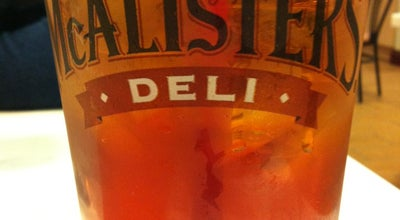 Photo of Cafe McAlister's Deli at 601 River Hwy, Mooresville, NC 28117, United States