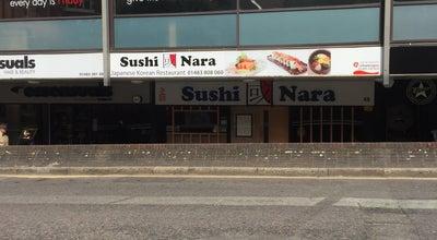 Photo of Sushi Restaurant Sushi Nara at 4b North St, Guildford GU1 4AA, United Kingdom