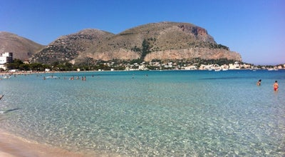 Photo of Beach Spiaggia di Mondello at Viale Regina Elena 89, Palermo, Sicilia 90149, Italy