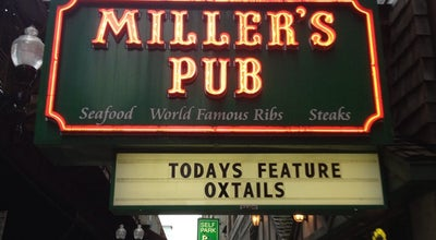 Photo of Pub Miller's Pub at 134 S Wabash Ave, Chicago, IL 60603, United States