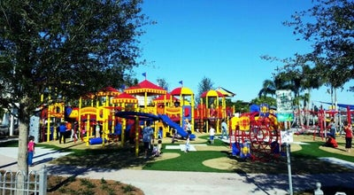 Photo of Playground Circus Park Playground at 2050 Adams Ln, Sarasota, FL 34237, United States