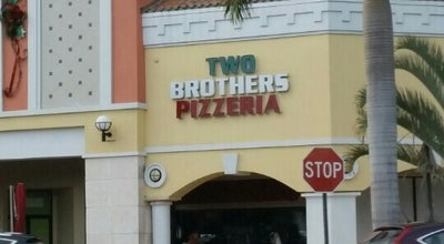 Photo of Pizza Place Two Brothers Pizza at 8424 Mills Dr, Miami, FL 33183, United States