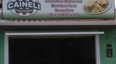 Photo of Snack Place Lancheteria Caineli at R. Fortaleza, Hortolândia, Brazil