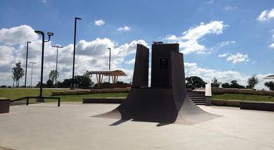 Photo of Skate Park Gabe Nesbitt Skate Park at McKinney, TX, United States