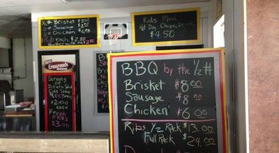 Photo of BBQ Joint Eddie Deen Crossroads Smokehouse at 1004 N Collins, Arlington, TX 76011, United States