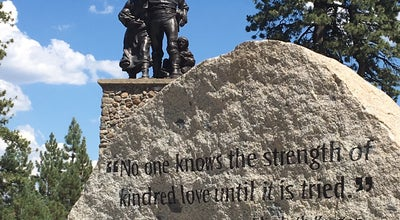 Photo of Historic Site Pioneer Monument at Donner Memorial State Park, Truckee, CA 96161, United States