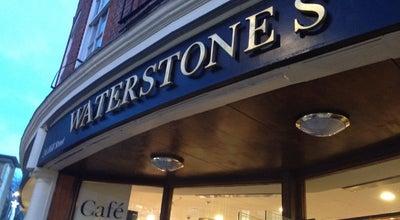 Photo of Bookstore Waterstones at 2-6 Hill St, Richmond TW10 6UA, United Kingdom