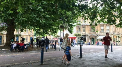 Photo of Pedestrian Plaza Kingsmead Square at Kingsmead Sq, Bath BA1, United Kingdom