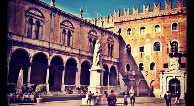 Photo of Monument / Landmark Piazza dei Signori at Verona, Italy