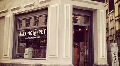 Photo of Beer Store Malting Pot at Rue Scarronstraat 50, Elsene / Ixelles 1050, Belgium