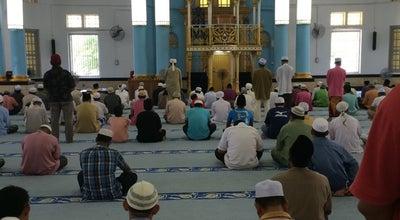 Photo of Mosque Masjid Jamek Muar at Muar, Malaysia