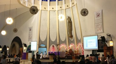 Photo of Church Queen of Peace Parish Church at Hilado St. Capitol Shopping Center, Bacolod City 6100, Philippines