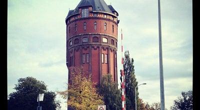 Photo of Monument / Landmark Watertoren Groningen Hofstede de Grootkade at Hofstede De Grootkade, Groningen, Netherlands
