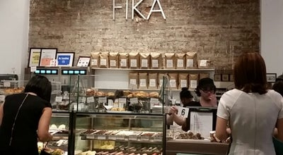 Photo of Coffee Shop FIKA at 114 W 41st St, New York, NY 10036, United States