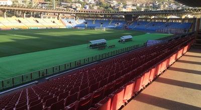 Photo of Soccer Stadium Vazgen Sargsyan Republic Stadium (Dynamo)   Վազգեն Սարգսյանի անվան հանրապետական մարզադաշտ (Դինամո) at Vratsian St., Yerevan 0070, Armenia