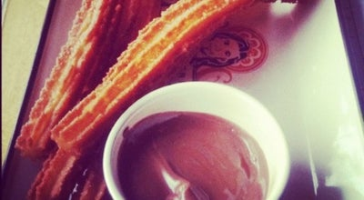 Photo of Dessert Shop Chocolateria San Churro at Shop No. 1, M-block, Main Market, New Delhi 110048, India