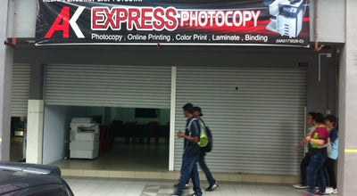 Photo of Bookstore AK Express Photocopy at Malaysia