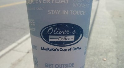 Photo of Coffee Shop Oliver's Coffee at 510 Muskoka Road South, Gravenhurst, ON P1P 1J8, Canada