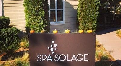 Photo of Spa Spa Solage at 755 Silverado Trl, Calistoga, CA 94515, United States