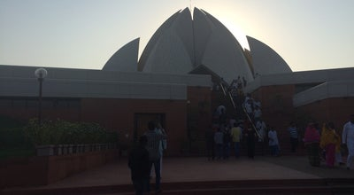 Photo of Temple Lotus temple at New Delhi, India