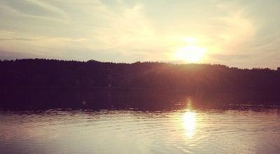 Photo of Lake Міністерські озера at Вул. Богатирська, Київ, Ukraine