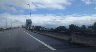 Photo of Bridge Pont sur le Grand Canal du Havre at Pont Sur Le Grand Canal Du Havre, Oudalle 76430, France