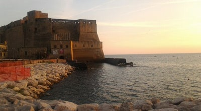 Photo of Castle Castel dell'Ovo at Via Eldorado 1, Napoli 80132, Italy