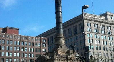 Photo of Monument / Landmark Cuyahoga County Soldiers' and Sailors' Monument at Public Square, Cleveland, OH 44114, United States