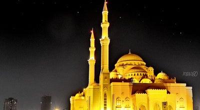 Photo of Mosque Al Noor Mosque (Masjid) - Buhaira Corniche at Buhairah Corniche, Sharjah 3638, United Arab Emirates