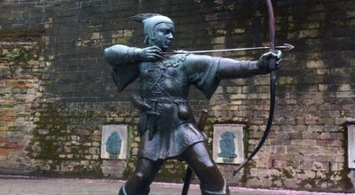Photo of Monument / Landmark Robin Hood Statue at Castle Rd, Nottingham NG1, United Kingdom