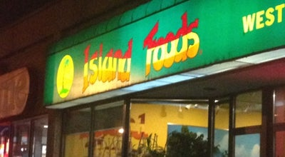 Photo of Caribbean Restaurant Island Foods at 1182 King Street West, Toronto, ON M6K 1E6, Canada