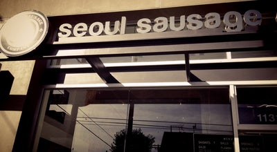 Photo of Korean Restaurant Seoul Sausage Company at 11313 Mississippi Ave, Los Angeles, CA 90025, United States