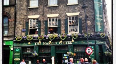Photo of Pub The Market Porter at 9 Stoney St, Borough SE1 9AA, United Kingdom