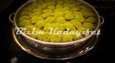 Photo of Dessert Shop Antepli Bizim Kadayifcı at Mahmutbey 6.yol, istanbul, Turkey