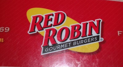 Photo of American Restaurant Red Robin Gourmet Burgers at 3903 E 53rd St, Davenport, IA 52807, United States