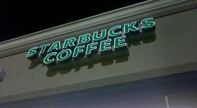 Photo of Coffee Shop Starbucks at 1351 W Davis St, Conroe, TX 77304, United States