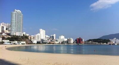 Photo of Beach 송도해수욕장 (Songdo Beach) at 서구 송도해변로 100, 부산광역시 49269, South Korea