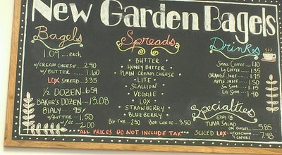 Photo of Bagel Shop New Garden Bagels at 1577 New Garden Rd, Greensboro, NC 27410, United States