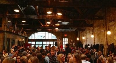 Photo of Beer Garden Houston Hall at 222 W Houston St, New York, NY 10014, United States