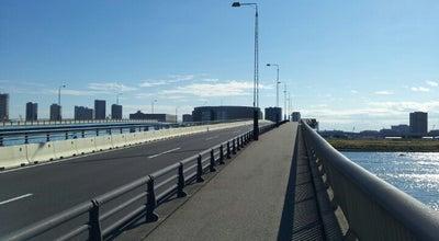 Photo of Bridge 晴海大橋 at 晴海4/晴海2/豊洲6, 中央区/江東区, Japan