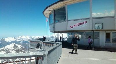 Photo of Mountain Schilthorn at Schilthorn, Mürren 3825, Switzerland