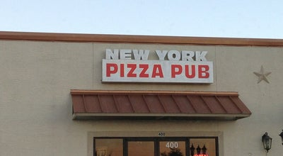 Photo of Pizza Place New York Pizza Pub at 2345 Loop 337, New Braunfels, TX 78130, United States