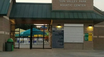 Photo of Pool Sun Valley Aquatic Center at 801 S. Valley Parkway, Lewisville, TX 75067, United States