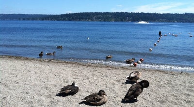Photo of Beach Vasa Park at 3564-3798 W Lake Sammamish Pkwy Se, Bellevue, WA 98008, United States
