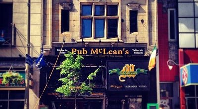 Photo of Bar McLean's Pub at 1210 Rue Peel, Montréal, QC H3B 2T6, Canada