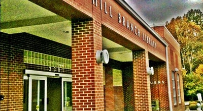 Photo of Library Hemphill Public Library at 2305 W Vandalia Rd, Greensboro, NC 27407, United States